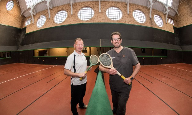 Dental practice announces sponsorship of real tennis club as it marks 125th anniversary