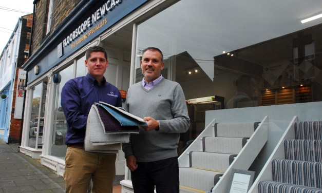 Northumberland carpet and flooring specialist rolls out operations as growth continues