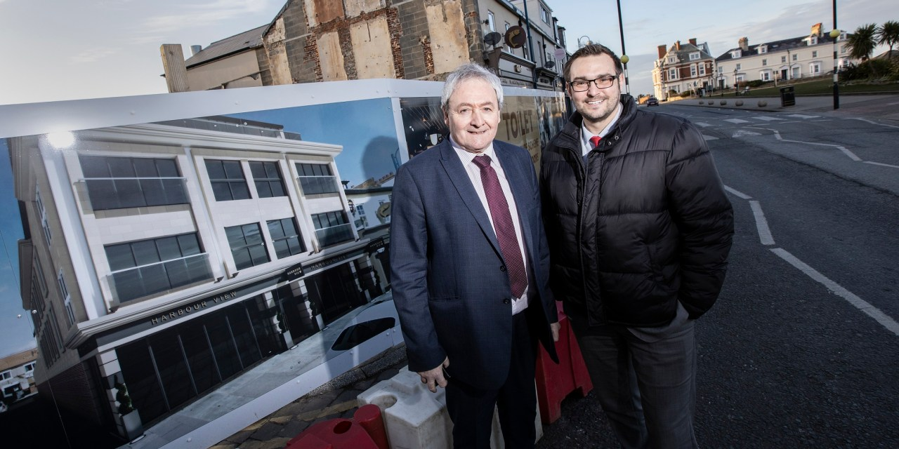 Work starts on mixed use development in Seaham
