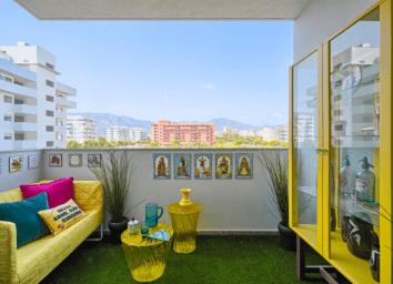 balcony artificial turf