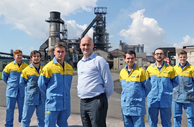 Apprentices are Tata Steel's 'Ready-made Pipeline of Talent'