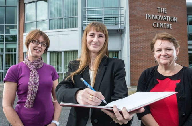 UKSE Helps New Bookkeeping Business Set Up in Blaenau Gwent