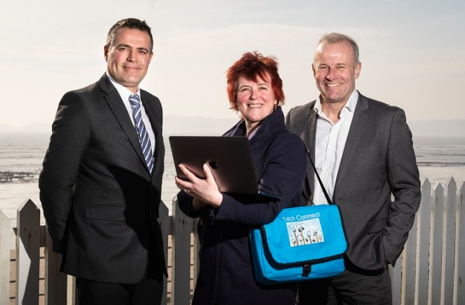 Digital Support Business Launches in Swansea