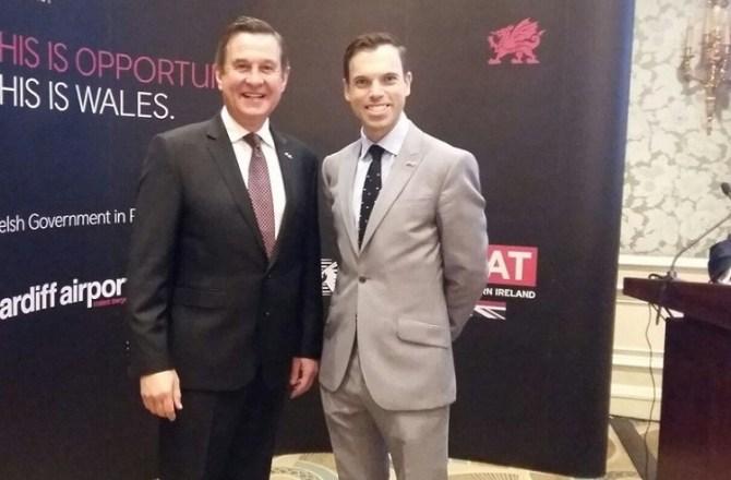 Economy Secretary Builds Links with Qatar Ahead of Cardiff to Doha Flights