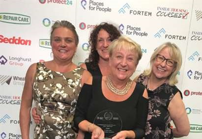 National Award for Taff Housing Association
