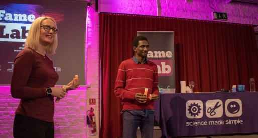 Swansea University Students Make FameLab 2018 Regional Final