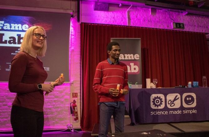 Swansea University Students Make FameLab 2018 Regional Final