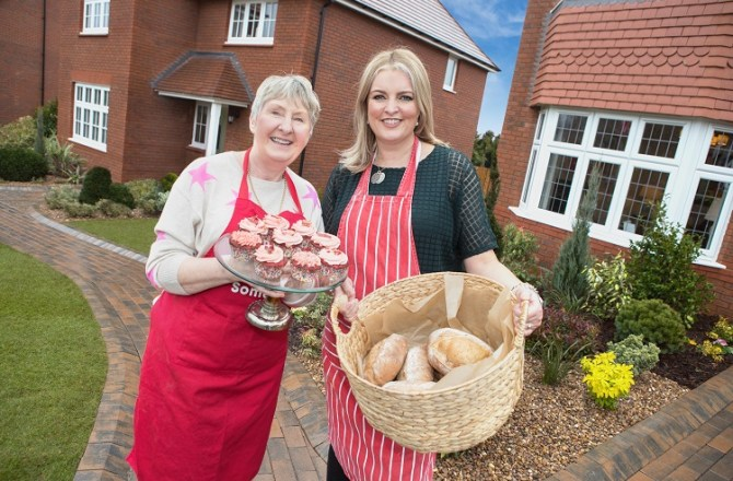 """""""Bake Off"""" Stars Attend Cae St Fagan Launch in Aid of Alzheimer's Society"""