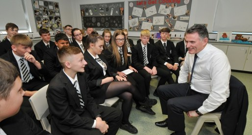 NatWest CEO Quizzed by Welsh Teenagers on School Visit