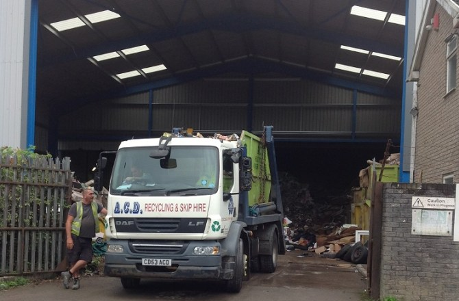 Bridgend Skip Hire Firm Secures £370,000 Funding for Expansion