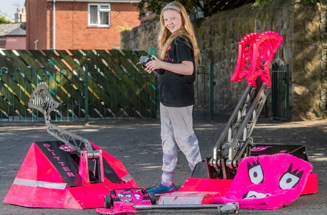 Meet Wales Youngest Robotics Engineer and STEM Advocate