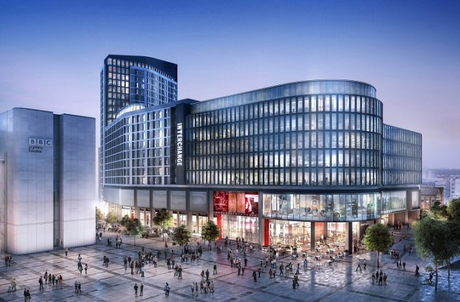 Cardiff's Metro Central Interchange New Images Released