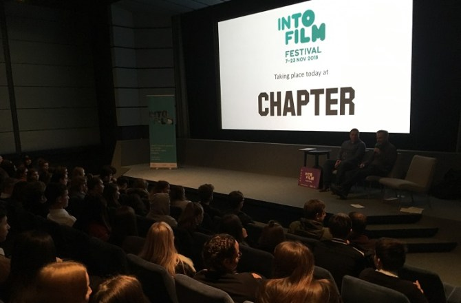 Young Film Fans get Special Effects Careers Advice