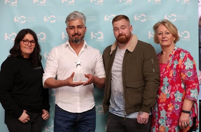 Skewen Barber Secures Barbering Award at Salon Cymru