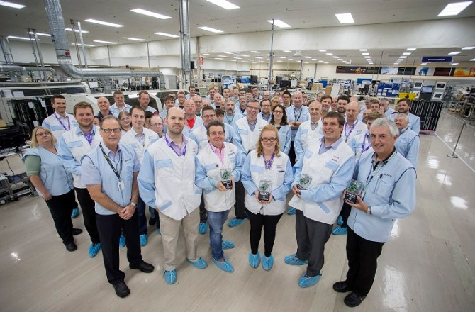 Pencoed-Based Sony UK TEC Celebrates 'Unprecedented Growth'