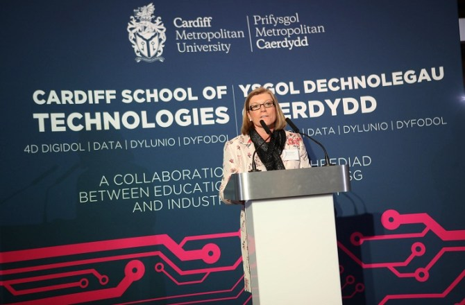 Cardiff School of Technologies Formally Launched at Senedd