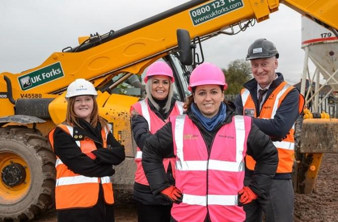 Newport Housing Scheme Encourages Women into Construction