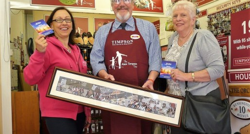 Chartist Past Boosts Newport Hospice's Future