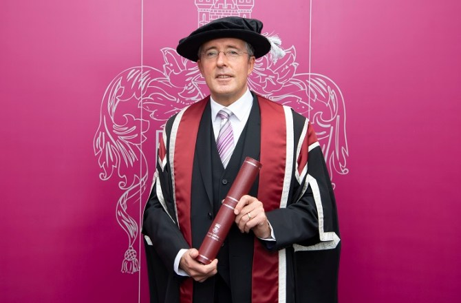 Swansea University Honours Inspiring Welsh Entrepreneur