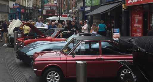 Classic Cars Help Boost Business in Newport