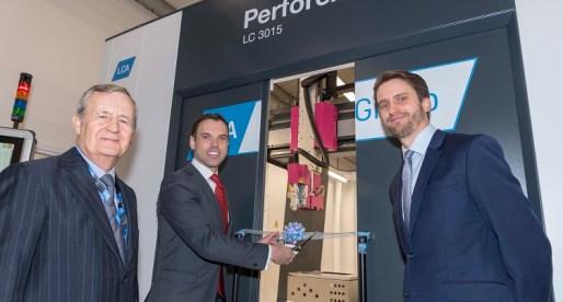 Economy Secretary Ken Skates Opens Multi-Million Pound Manufacturing Facility