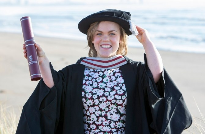 Ellie Simmonds OBE Awarded Degree by Swansea University