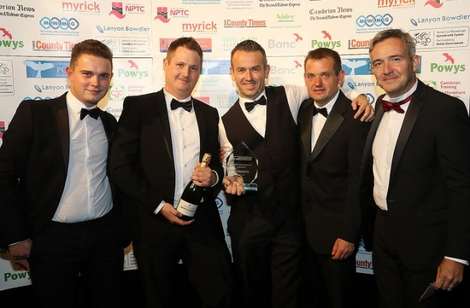 High Flying Welsh Construction Company Wins Entrepreneurship Award