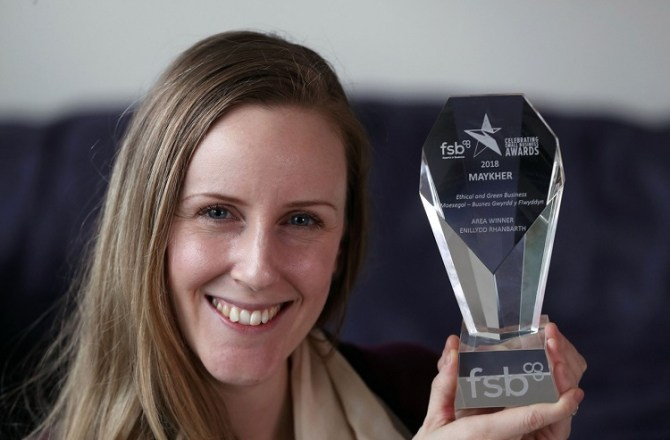 Welsh Fashion Brand Scoops Green Business Award