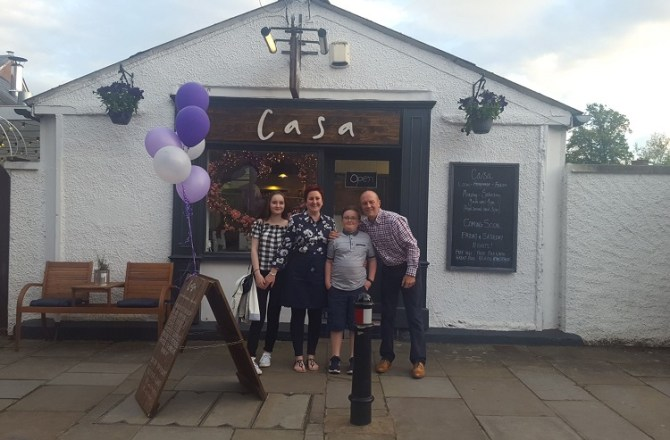 Brecon Restauranteur Tightens her Trainers for Kidney Wales