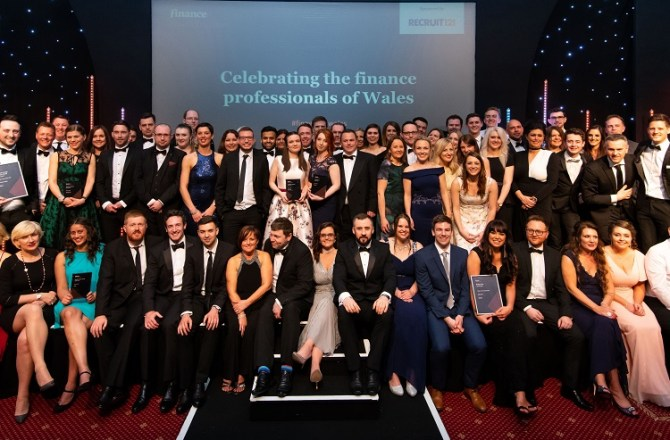 Winners of the Inaugural Finance Awards Wales Announced