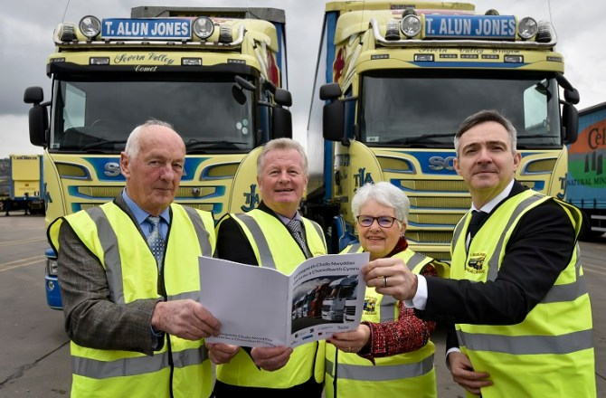 Joint Freight Vision Launched for Wales and the Marches