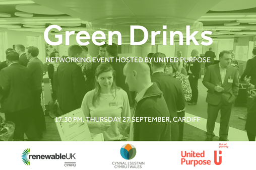 <strong>27th September – Cardiff </strong><br>Green Drinks Cardiff