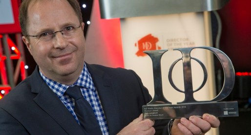 IoD Award Recognition for Acorn Director and Wales Week in London Founder