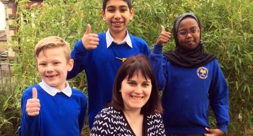 Ninian Park Primary School Celebrates Raising Standards