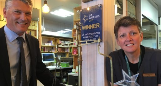 "Neath-based The Health Dispensary Awarded ""Independent Pharmacy of the Year"""