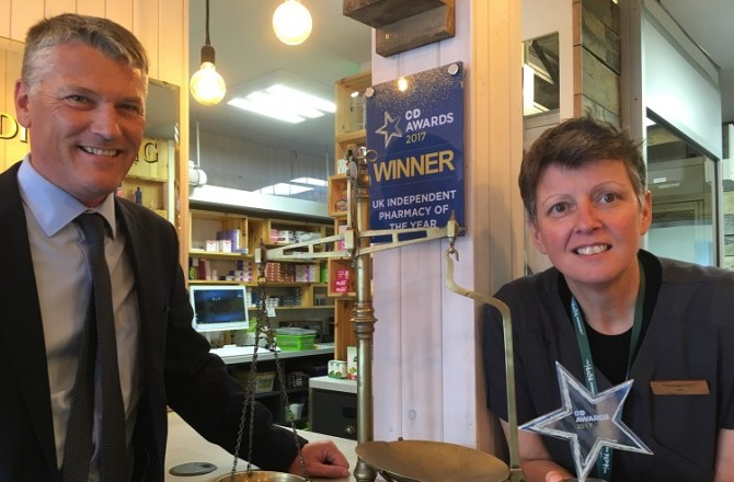 """Neath-based The Health Dispensary Awarded """"Independent Pharmacy of the Year"""""""