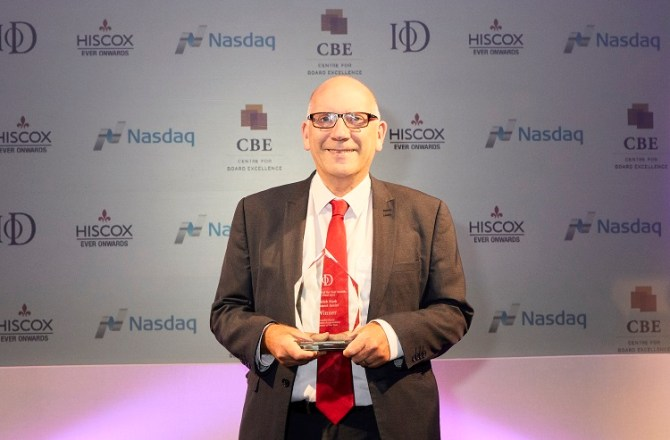 Founder of Social Business Scoops Prestigious IoD Director Of The Year Award
