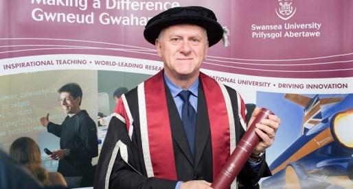 Swansea University Awards Degree to Founding Member of S4C