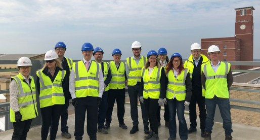 Construction Milestone for New Science and Technology Hub