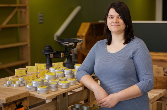 Young Entrepreneur's Zero-Waste Business a First for Carmarthen