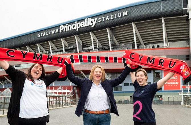Grand Slam Success Sees Welsh Charities Receive £50k from Principality
