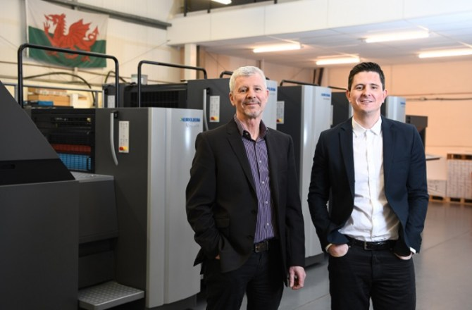 Cardiff-based Spectrum Printing Makes £1M Investment in Technology