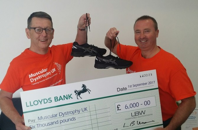 Wrexham-Based Accountancy Firm Raises More than £20,000 for a Charity
