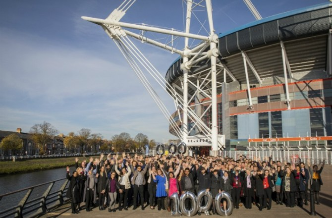 Deloitte Reaches 1,000th Employee Milestone in Wales