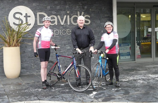 South Wales Estate Agent and Dad Train for Lejog Charity Cycle