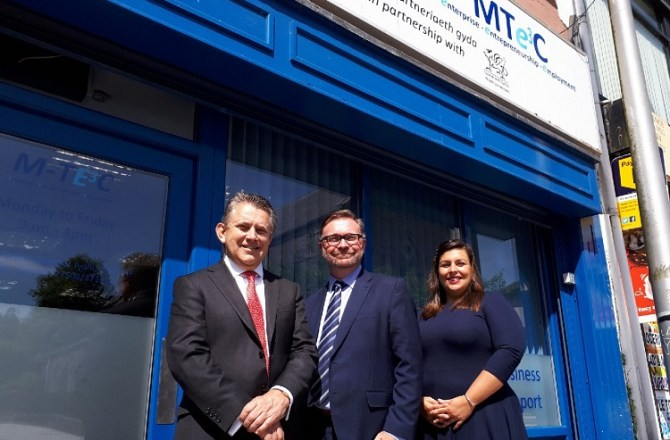 Merthyr Tydfil Organisation Praised by CEO of NatWest Personal and Business Banking