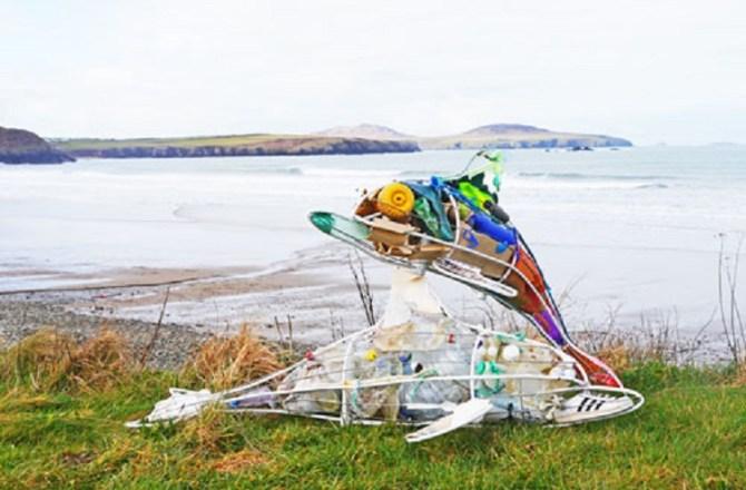 National Park Wildlife Sculptures to Highlight Fight Against Marine Litter
