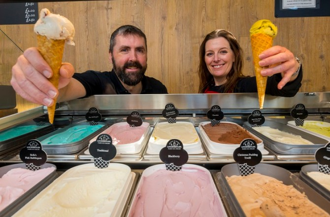 Expansion for New Pembrokeshire Ice Cream Producer