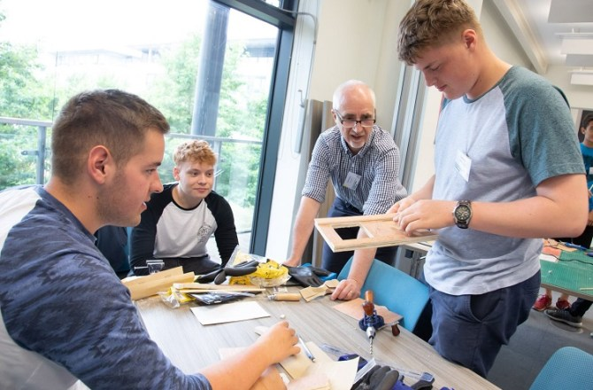 Welsh Engineers of the Future Star at Design Challenge