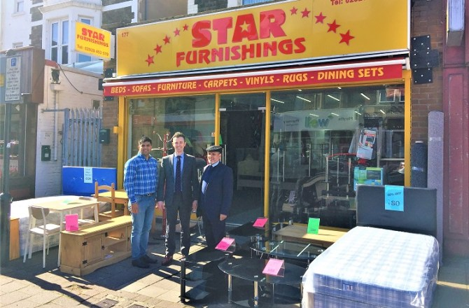 Cardiff Furniture Retailer Beds into Permanent Premises